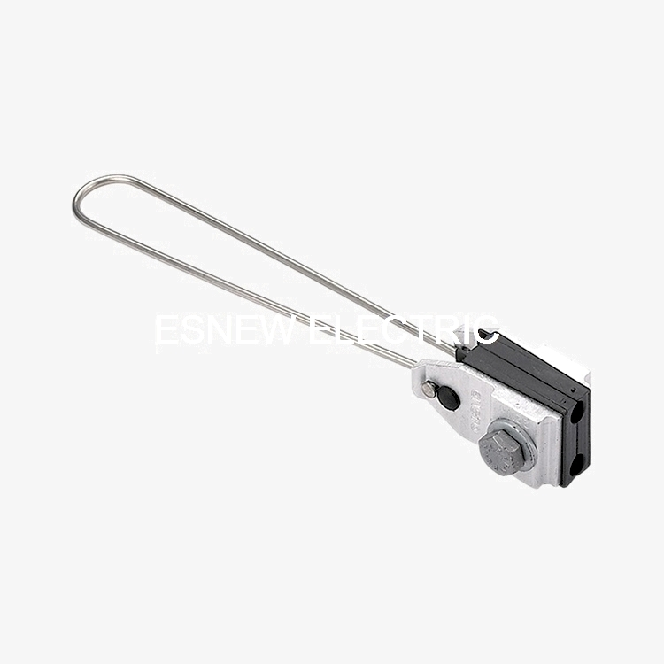 ES157 Hot-DIP Galvanized Stainless Steel Anchoring Clamp for Two Core Cable